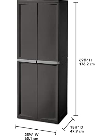 Perfect White Storage Cabinets With Doors Design Ideas
