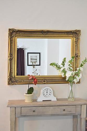 Gold Ornate Wall Mirror: Amazon.co.uk: Kitchen & Home