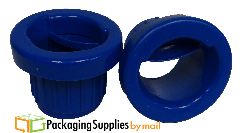 PackagingSuppliesByMail - Hand Saver Dispenser for Stretch Wrap - 12'' - 18'' - Dark Blue - 3'' Core - 10 Pairs