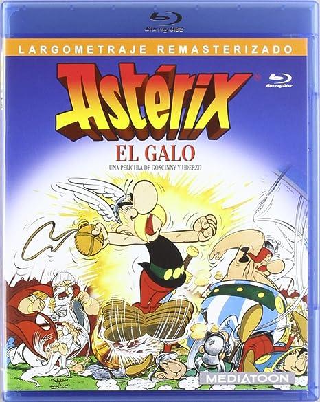 Astérix el galo [Blu-ray]: Amazon.es: Ray Goossens: Cine y Series TV