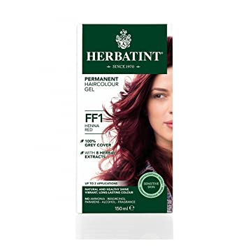 Herbatint Natural Hair Colour Henna Red Ff1 150ml Amazon Co Uk Beauty