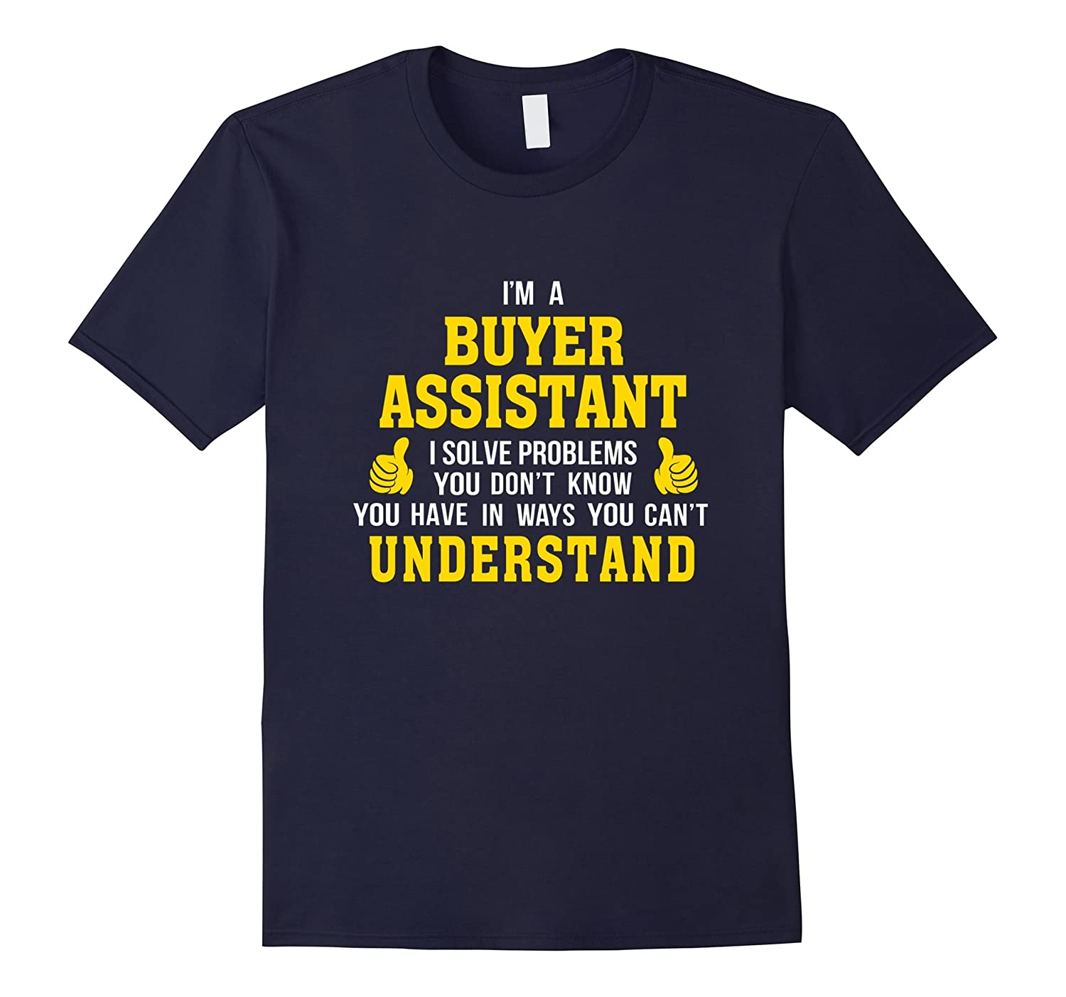 Buyer Assistant solves problems in ways understand-TD