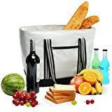 Amazon Price History for:YONOVO 25L Insulated Cooler Bag with Hard Bottom YKK Zipper and FDA Liner for Picnic Outdoor Party(Skyblue)