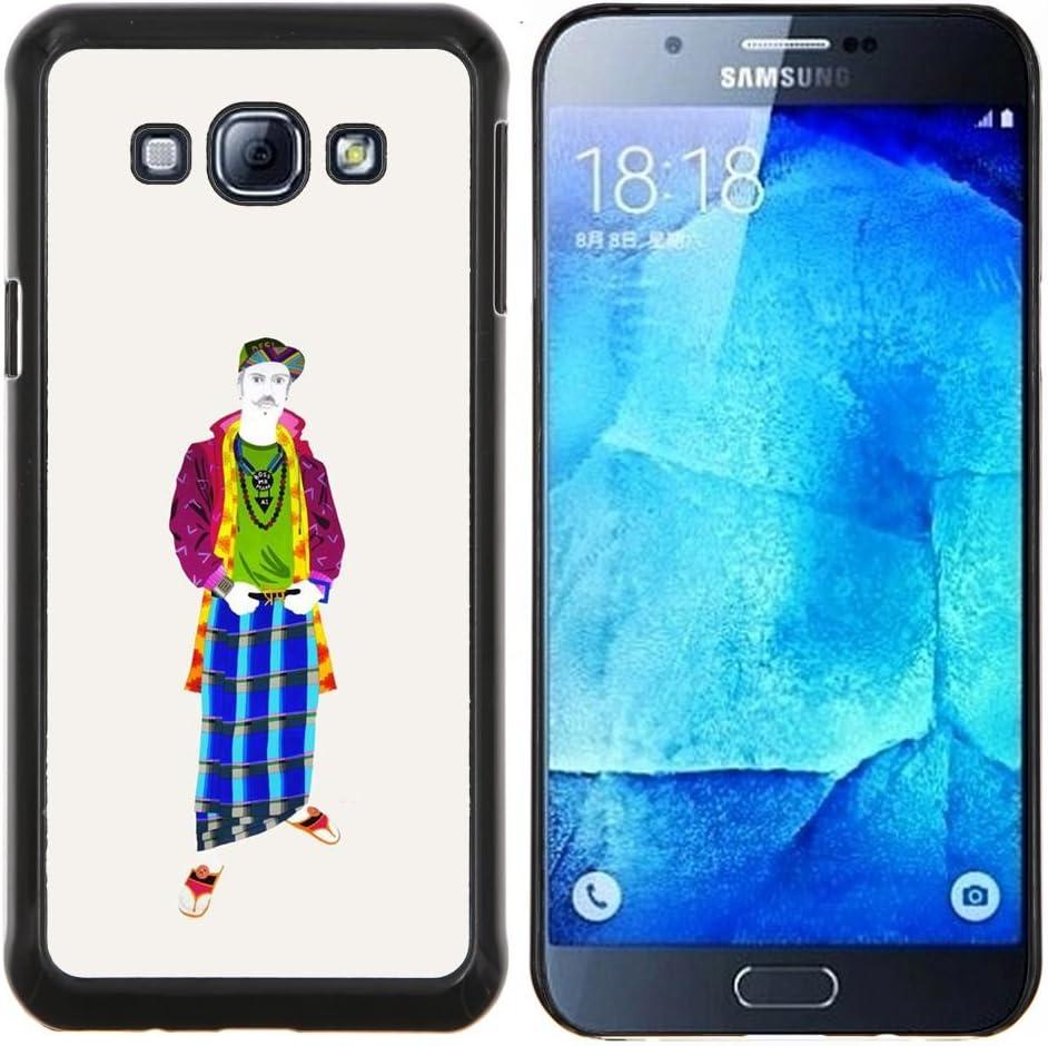 Funda para Smartphone carcasa rígida cubierta protectora para Samsung Galaxy A8 A8000/funda/Cool edad media TECELL para guardar: Amazon.es: Electrónica