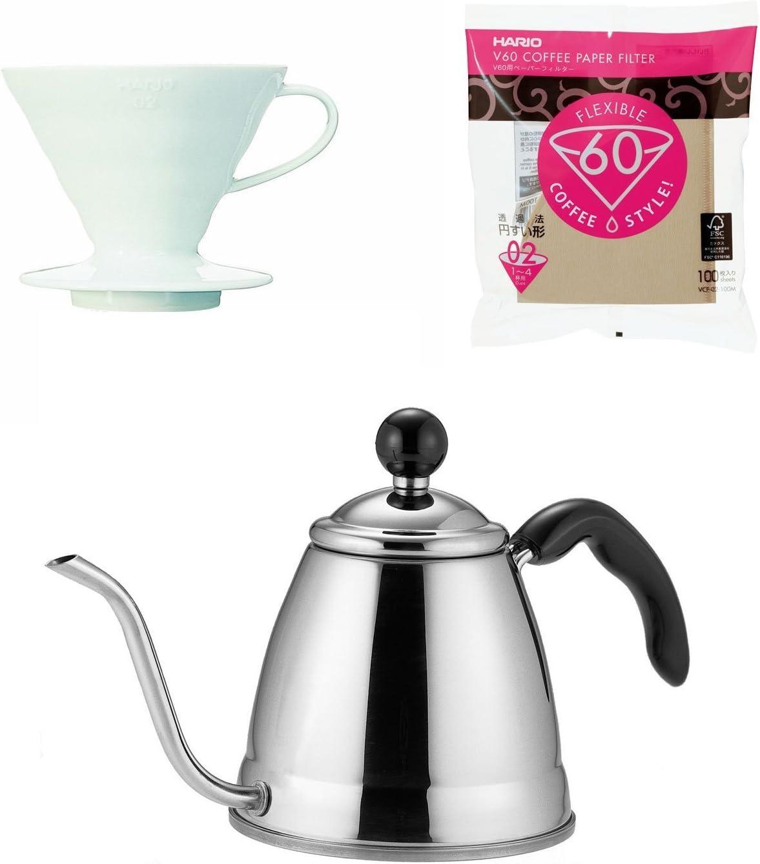 Fino Hario V60 café Products – 1,2 litros de Goteo cafetera ...