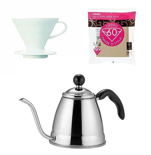 Fino Hario V60 café Products - 1,2 litros de Goteo cafetera ...