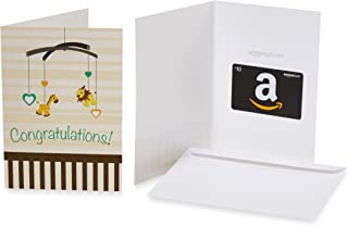 $10 Gift Card in a Greeting Card (Oh, Baby! Design)