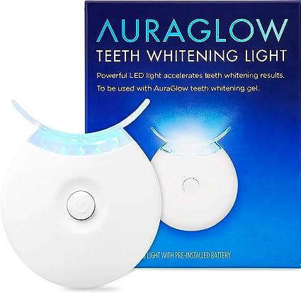 Amazon Com Auraglow Teeth Whitening Accelerator Light 5x More