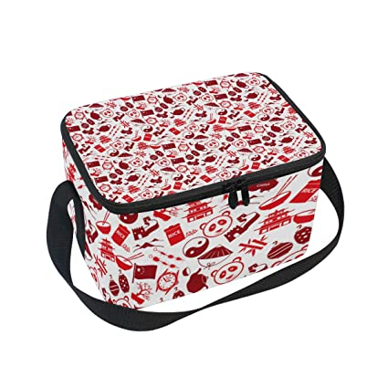 0d8d1b495d Image Unavailable. Image not available for. Color  Insulated Lunch Bag China  ...