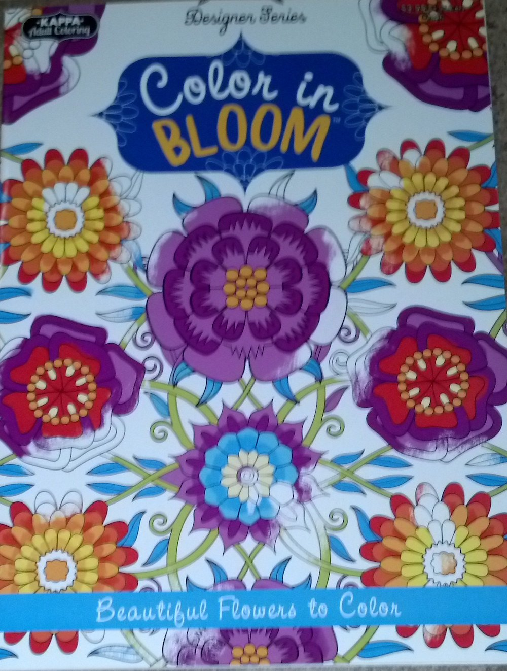Color In Bloom Designer Series Beautiful Flowers To Color Adult Coloring Book pdf epub