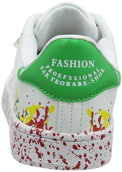 a9aa4ebbb0fe68 JEDVOO Uomo Donna Sneakers Scarpe da Ginnastica Basse Running Tennis Scarpe  Foundation: Amazon.it: Scarpe e borse