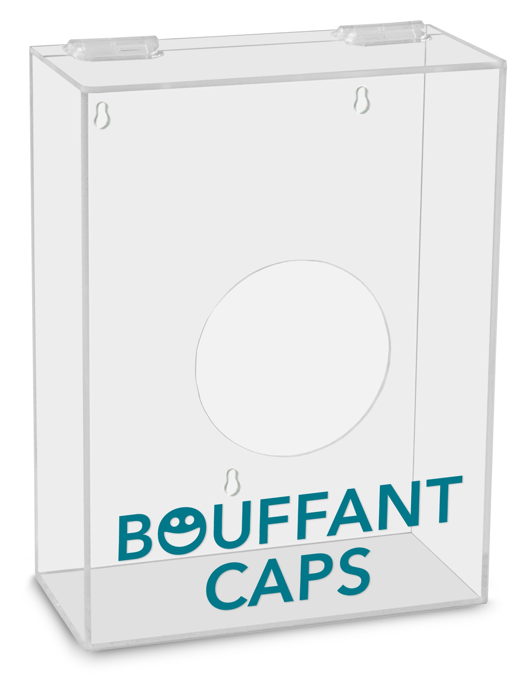 TrippNT 51312 Bouffant Caps Labeled Small Apparel Dispenser, 9'' Width x 12'' Height x 4'' Depth