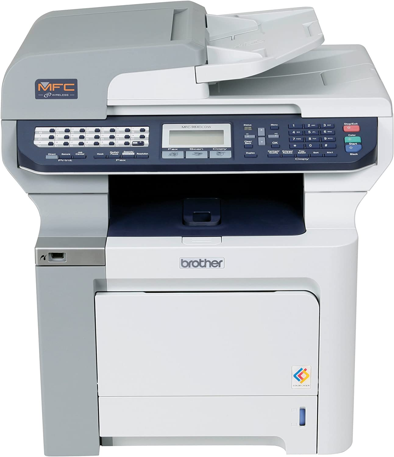 Amazon.com: Brother MFC-9840CDW Laser Multifunción Center ...
