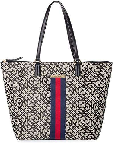 ecf12f72 Image Unavailable. Image not available for. Color: Tommy Hilfiger Women's  Eve II Large Tote Bag Handbag