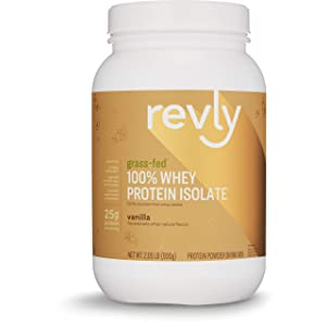 Revly Brand Protein Grass Fed Servings