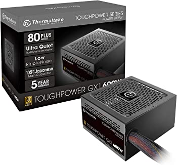Thermaltake Toughpower GX1 600W ATX 12V 80 Active PFC Power Supply