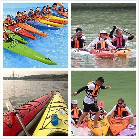 Kayaking Paddle Fishing Rod Leash Canoe Rafting Boat Bungee Cord Accessories