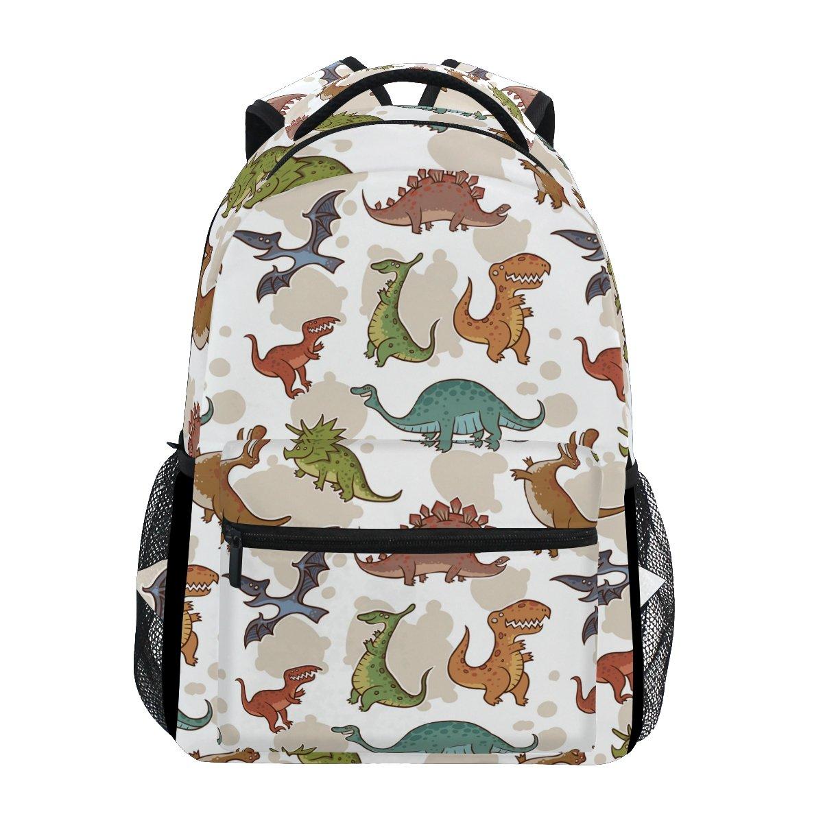 TIZORAX Dinosaure Sac à dos Sac d'école pour randonnée Voyage Sac à dos