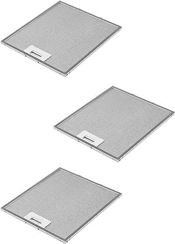 DREHFLEX AK109-3-3 filtros de grasa metálicos para campana extractora(305x267 mm,AEG Electrolux 405525042-9 Elica GRI0009219A KIT0010805 93952919 Whirlpool Bauknecht 480122102168 C00314158 ARI314158): Amazon.es: Grandes electrodomésticos