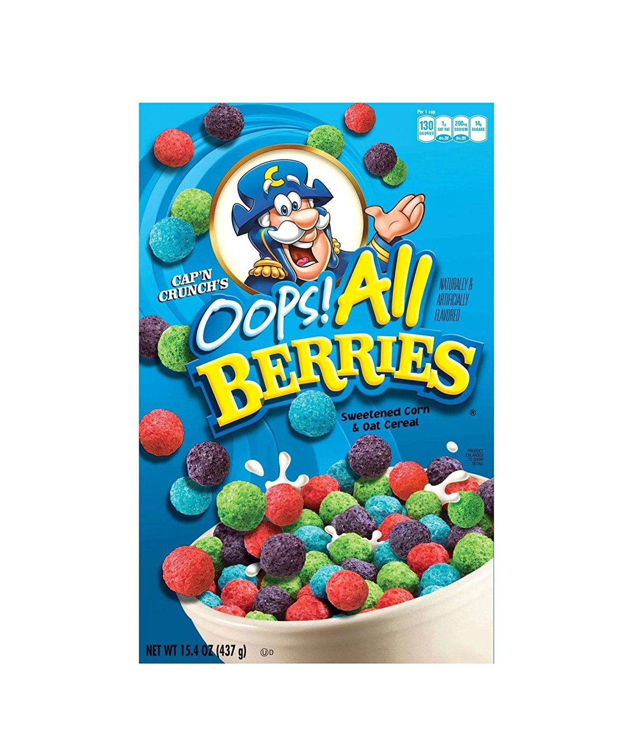 Amazon Com Cap N Crunch S Oops All Berries Cereal 15 4 Oz Set Of 2 Breakfast Cereals We could simply relax and shovel the crunchy, flesh tearing berries into our faces with reckless abandon because someone had done all the hard work for. cap n crunch s oops all berries cereal 15 4 oz set of 2