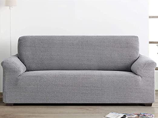 Belmarti - Funda sofá Elegant - PatternFit - 2 plazas - Color Lino C18