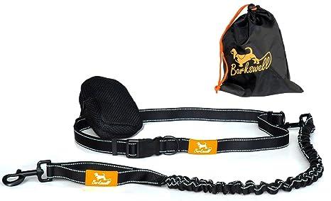 Barkswell Correa Manos Libres para Correr con Perros. Cinturón ...