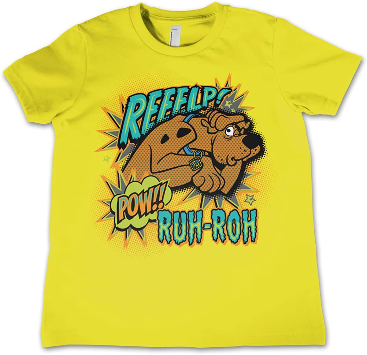 Officially Licensed Scooby Doo Scooby Doo Reeelp Kids T-Shirt Age 3-12 Years