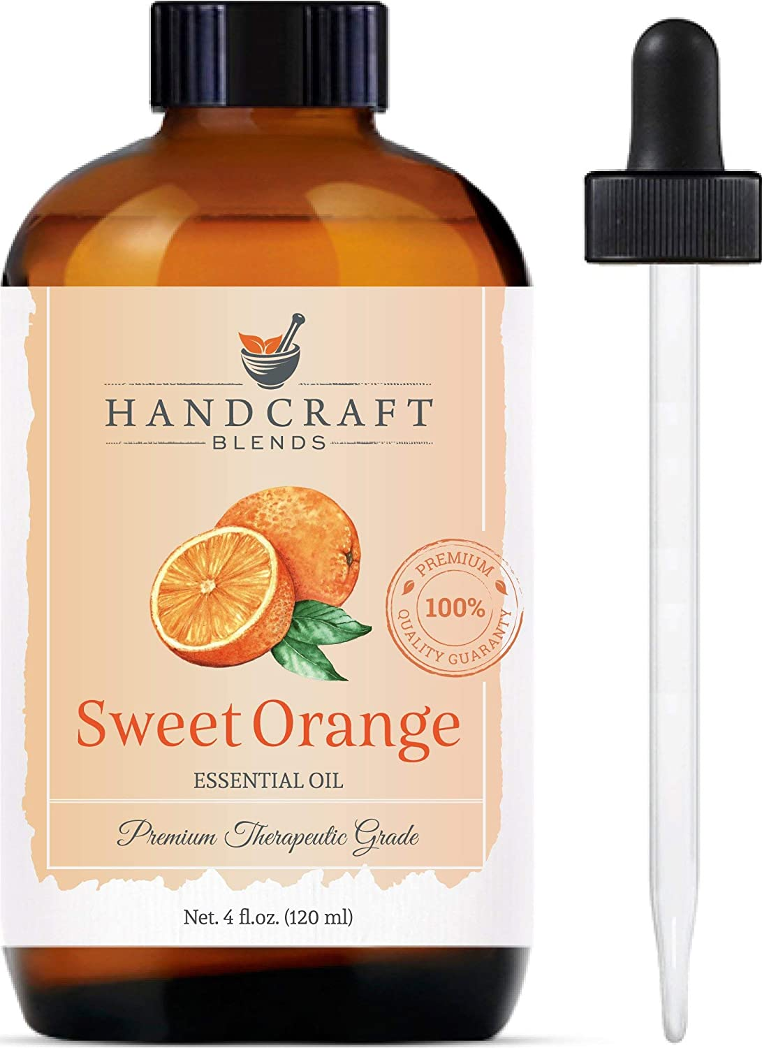 Sweet Orange Essential Oil - 100% Pure and Natural