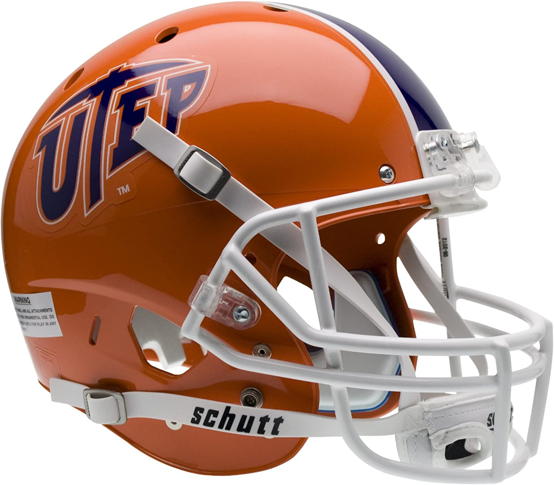 NCAA Texas El Paso Miners Replica XP Helmet : Sports Related Collectible Mini Helmets : Sports & Outdoors