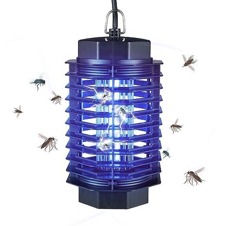 Gardigo Insektenvernichter Elektrisch Mit Uv Licht I Elektronischer Muckenschutz Gegen Mucken Fliegen Moskitos I Insektenabwehr Fur 50 M I