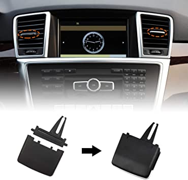 Front AC Vent Adjustment Buckle Repair Kit for W164 ML 350 ML 430 ML 500 ML 550 2006-2011 X164 GL 350 GL 450 2007-2012 Moonlinks for Mercedes Benz Front Center//Left//Right Air Vent Tabs Replacement