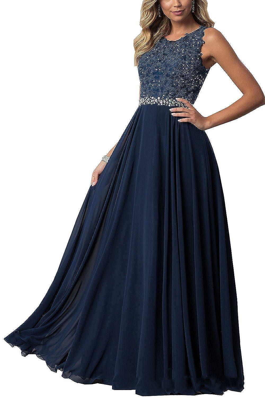 Beyonddress Damen Abendkleider mit Applikationen Elegant Ballkleid Brautjungfernkleider Kurz Partykleid