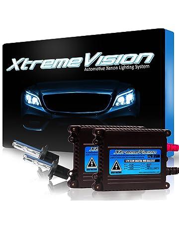XtremeVision 35W Xenon HID Lights with Premium Slim Ballast - H7 30000K - 30K Deep Blue