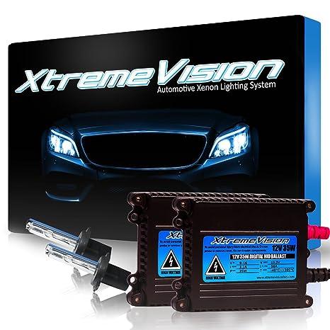 amazon com xtremevision 35w hid xenon conversion kit with premium