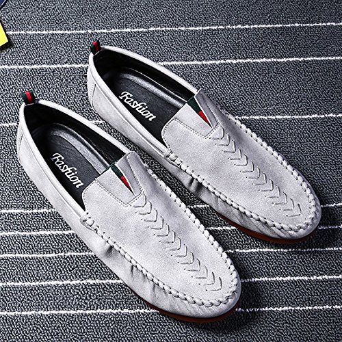 The Man Driving The Car Skid Shoes Casual Shoes High Quality Classic Casual Shoes Grey 1b9bd