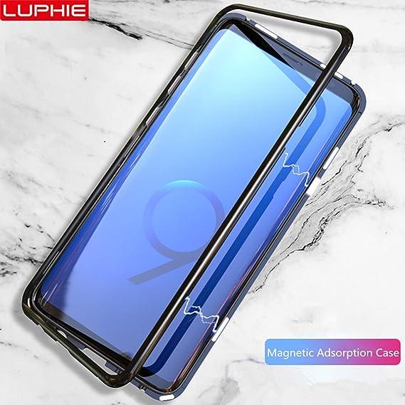wholesale dealer 851fc 65115 Amazon.com: Magnetic Adsorption Case For Samsung Galaxy S9 Plus ...