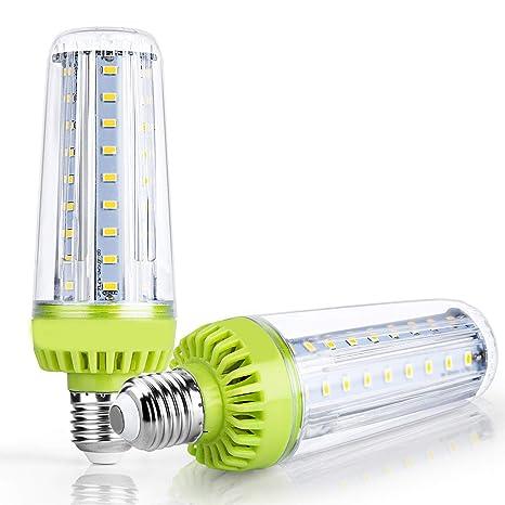 QEQ Bombillas led E27 50W Bombillas LED de maíz de 50 W ...