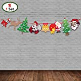 Party Propz Christmas Bunting/String Banner