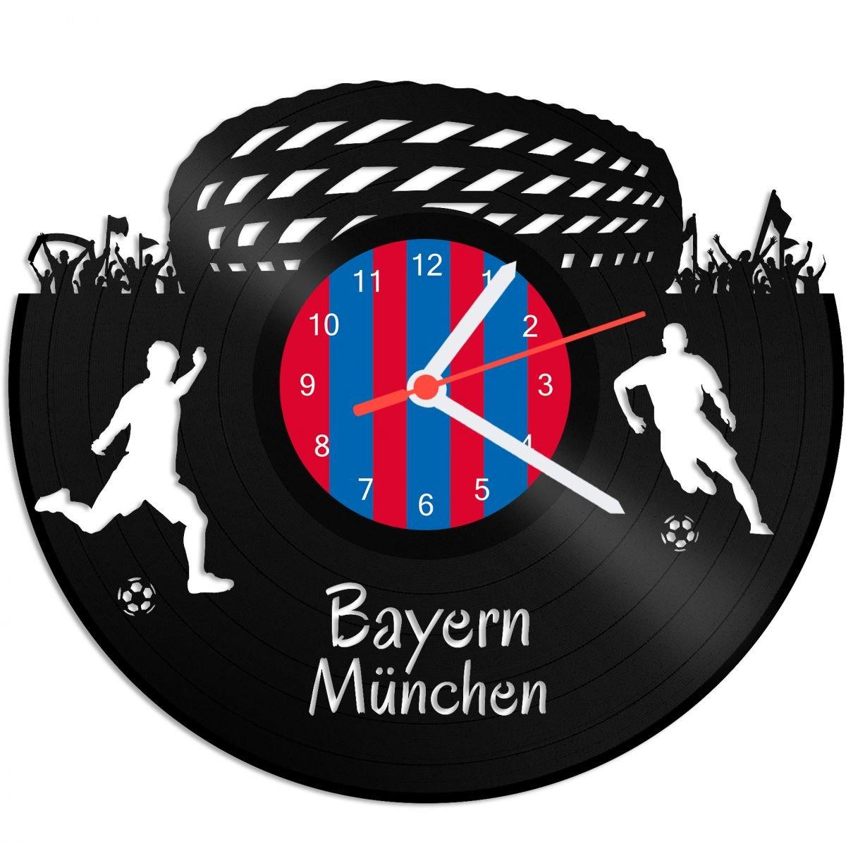 FC Bayern M/ünchen Wanduhr