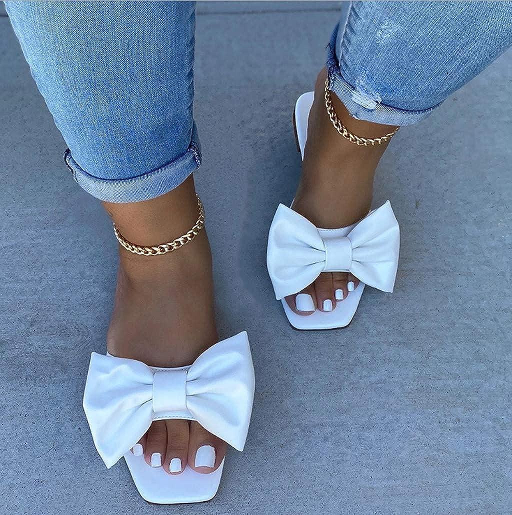 Wholesale Square Toe Womens Slipper Shoes Summer Mules