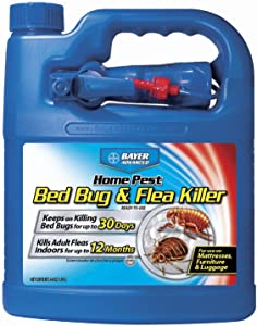 Bayer Advanced 84987646 701325A Bed Bug and Flea Killer, 64 oz, Ready-to-Spray
