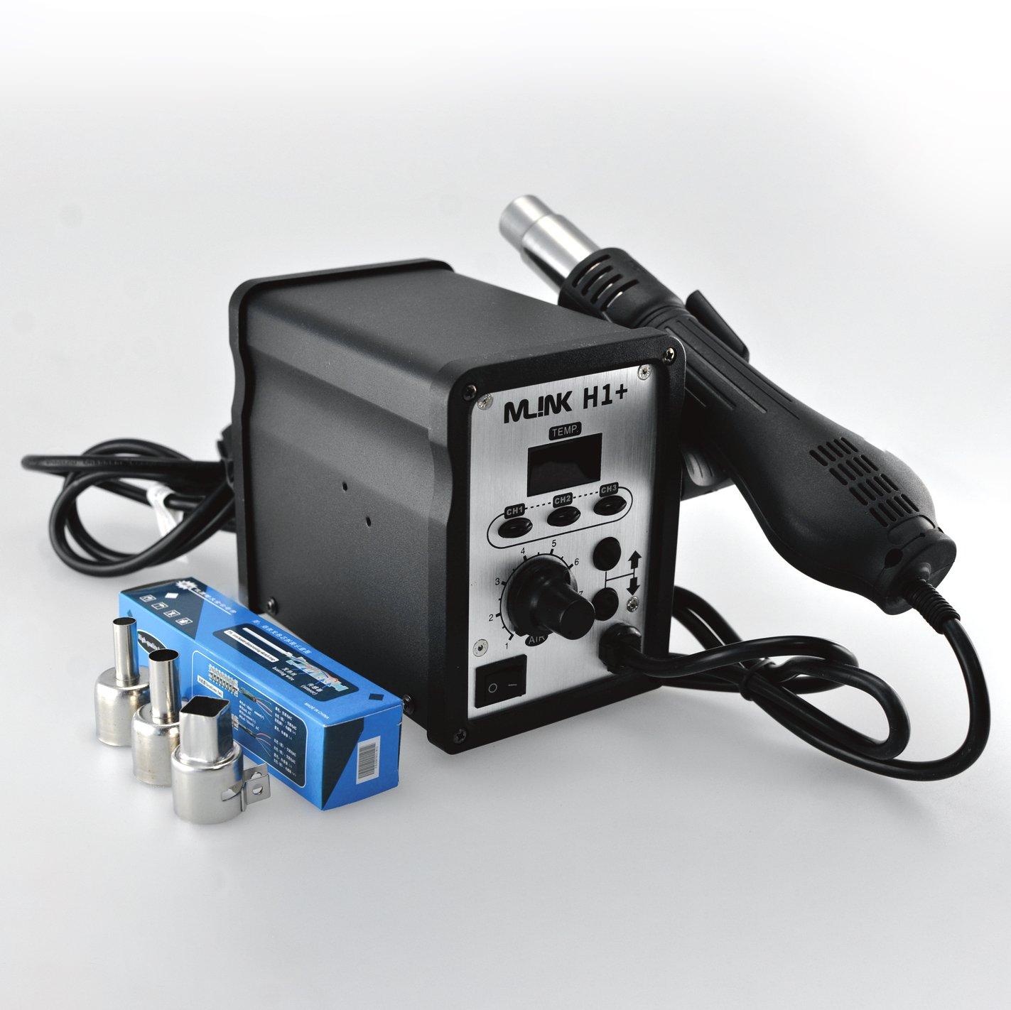 Estacion de soldadura Aire Caliente MLINK H1 control digital y memorias