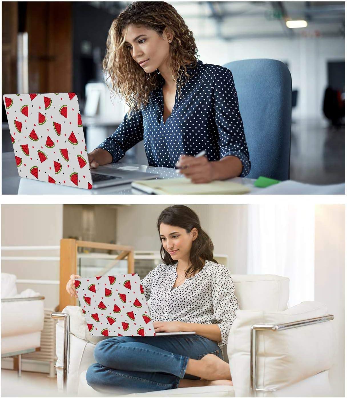 Laptop Case MacBook Pro Summer Fashion Cute Fruit Watermelon Plastic Hard Shell Compatible Mac Air 11 Pro 13 15 MacBook Case Protection for MacBook 2016-2019 Version