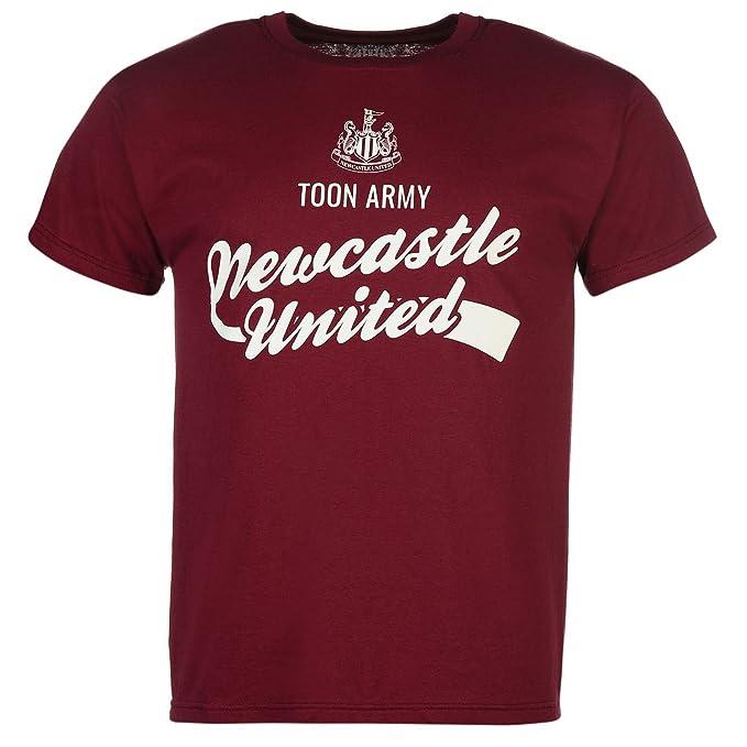 Team Hombre Newcastle United Grafico Camiseta Cuello Redondo ...