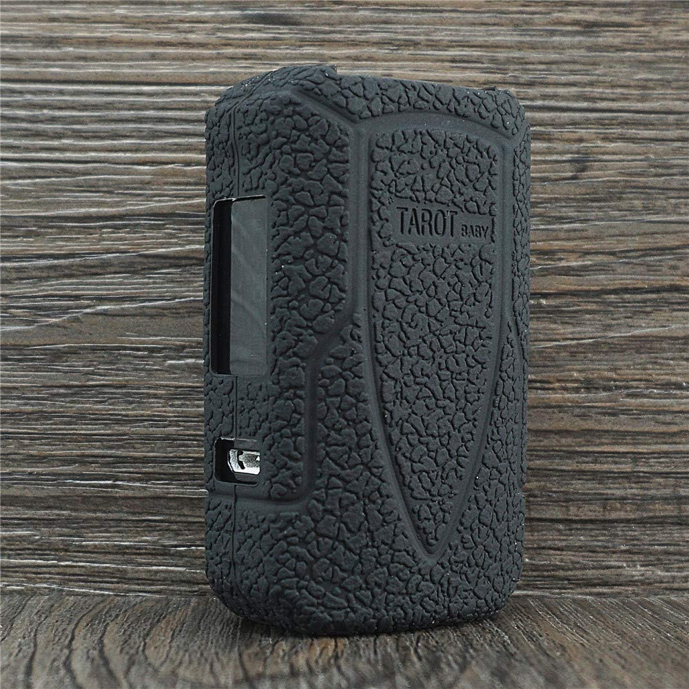 ORIN Protector de Silicona Caso para Vaporesso Tarot Baby 85W Starter Kit Box Kit Mod Silicona Manga Caso Cubrir Piel Cover Skin Case(Negro)