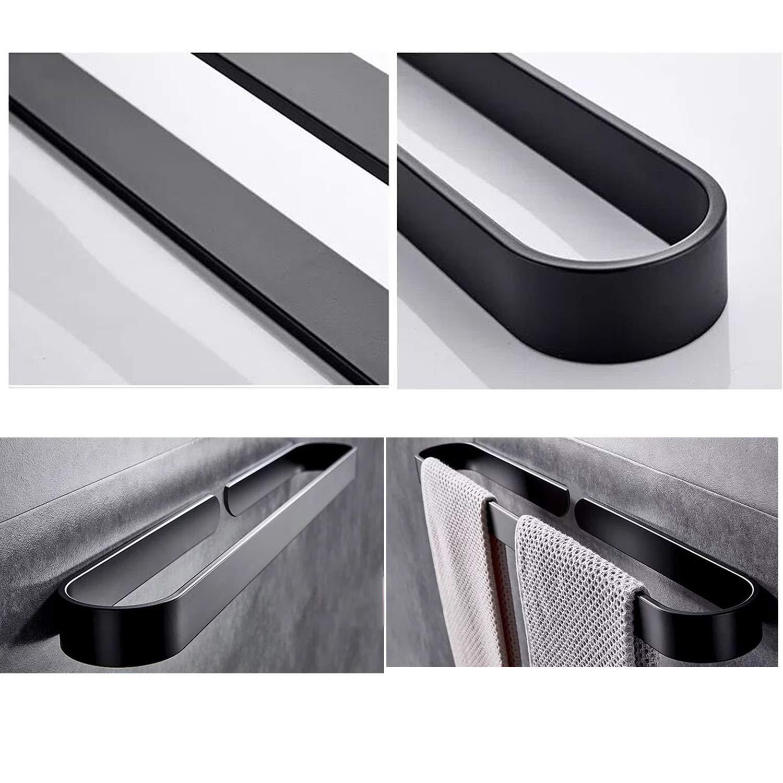 cucina Installazione facile 7WUNDERBAR portasalviette portasalviette portasciugamani senza foratura 40 cm per bagno bianco senza asciugamani bagno