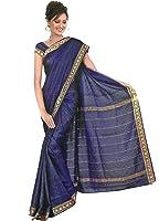 très joli Saree / Sari dans Bollywood arc en ciel - Bleu
