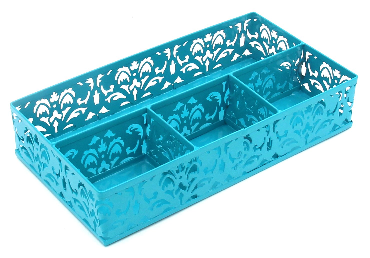 EasyPAG Metal Desk Drawer Organizer,Dark Teal