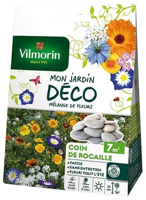 Vilmorin 5867307 Pack De Graines Melange De Fleurs Coin De Rocaille 7 M