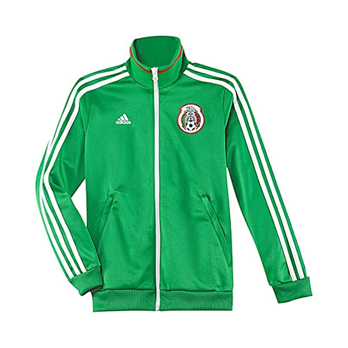 44815f92e Amazon.com: adidas Soccer Apparel Mexico Track Top Youth.: Clothing